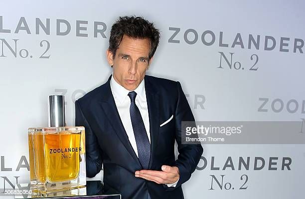 Ben Stiller attends the Sydney Fan Screening Event of the Paramount Pictures film 'Zoolander No 2' at the State Theatre on January 26 2016 in Sydney...