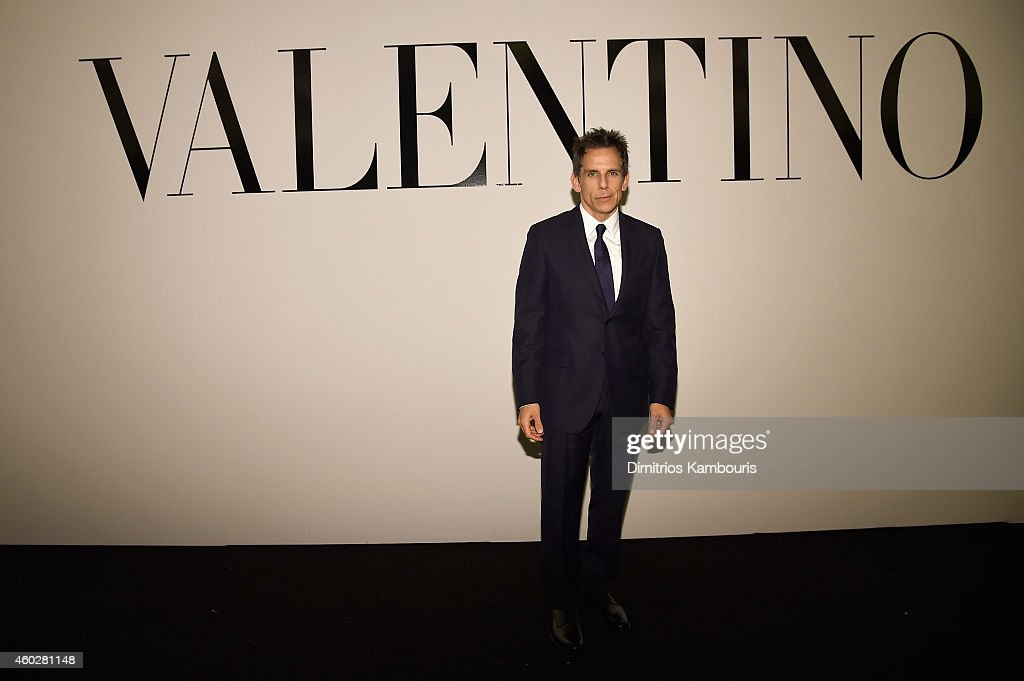 Ben Stiller attends the Valentino Sala Bianca 945 Event on December 10, 2014 in New York City.