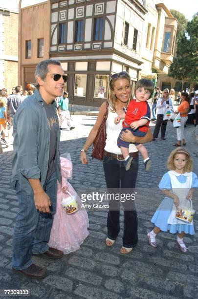 Ben Stiller Christine Taylor and children