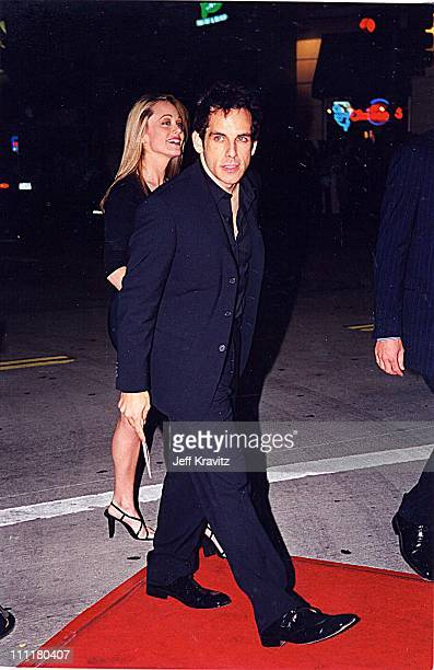 Ben Stiller Christine Taylor during Fight Club Premiere in Los Angeles California United States