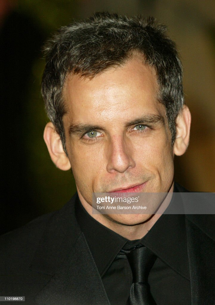 Ben Stiller during 2004 Vanity Fair Oscar Party - Arrivals at Mortons in Beverly Hills, California, United States.