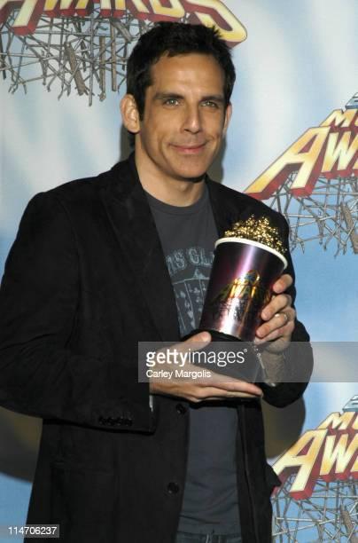 Ben Stiller during 2005 MTV Movie Awards - Press Room at Shrine Auditorium in Los Angeles, California, United States.