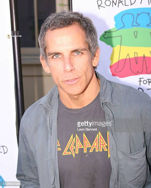 Ben Stiller during Camp Ronald McDonald for Good Times – 14th Annual Halloween Carnival at Universal Studios Backlot in Universal City CA United...