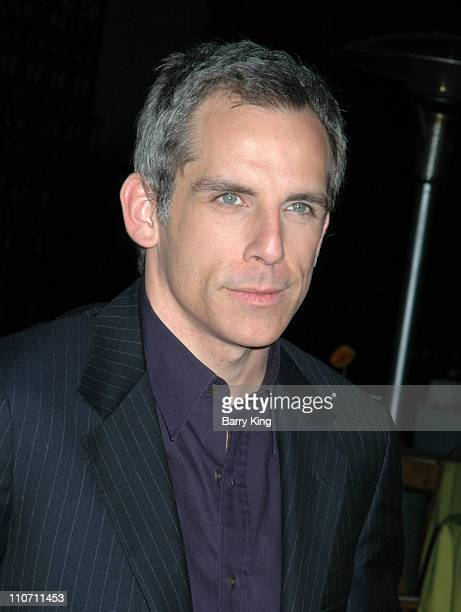 Ben Stiller during Year of the Dog Los Angeles Premiere Arrivals at The Paramount Pictures Theater in Los Angeles California United States