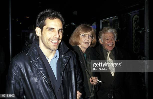 Ben Stiller his parents Ann Meara and Jerry Stiller