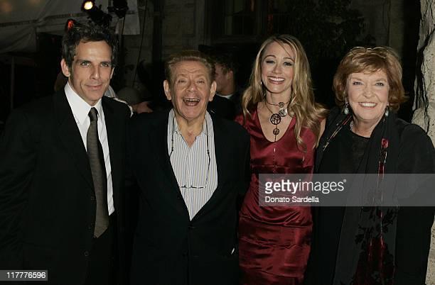 Ben Stiller Jerry Stiller Christine Taylor and Anne Meara