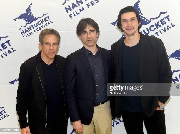 Ben Stiller Noah Baumbach and Adam Driver attend 'In Their Shoes' at the 2018 Nantucket Film Festival Day 5 on June 24 2018 in Nantucket Massachusetts