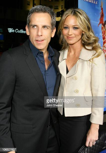 "Ben Stiller, producer and Christine Taylor during ""Blades of Glory"" Los Angeles Premiere - Red Carpet at Mann's Chinese Theater in Hollywood,..."