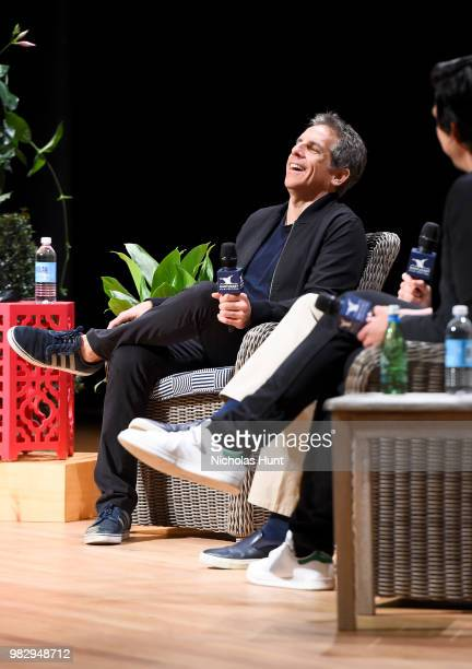 Ben Stiller speaks onstage during 'In Their Shoes' at the 2018 Nantucket Film Festival Day 5 on June 24 2018 in Nantucket Massachusetts
