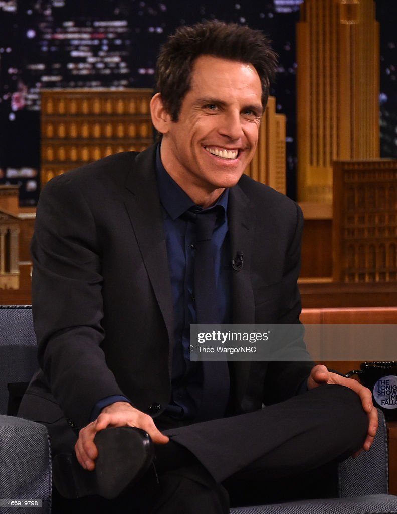 "Ben Stiller Visits ""The Tonight Show Starring Jimmy Fallon"""