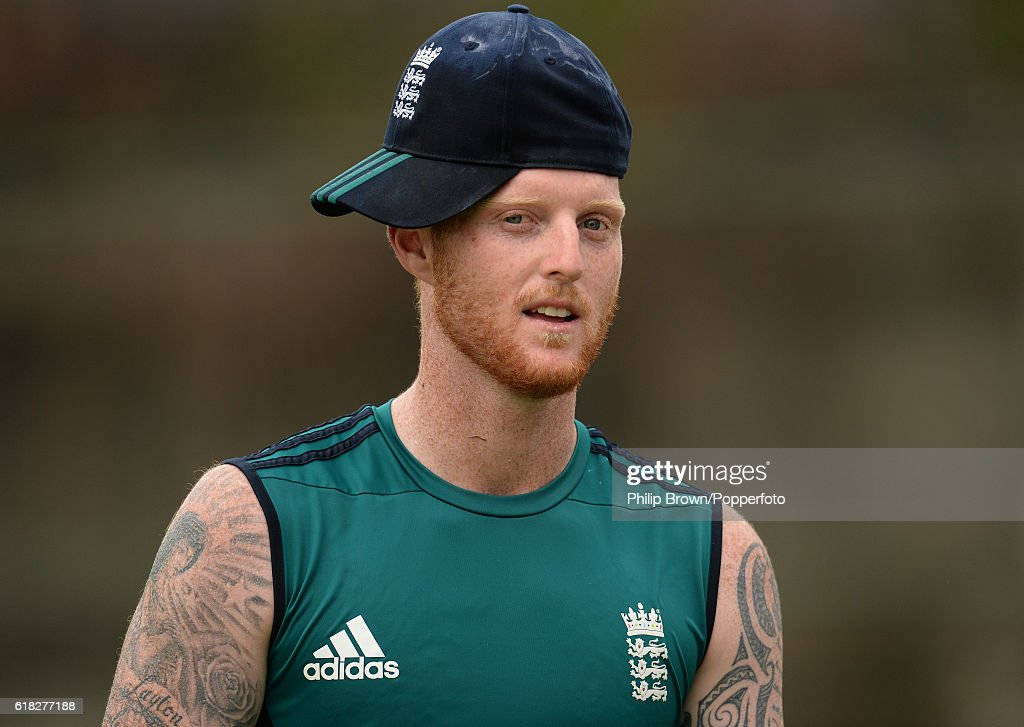 Ben Stokes during a training session before the second test match between Bangladesh and England at Shere Bangla National Stadium on October 26, 2016 in Dhaka, Bangladesh.