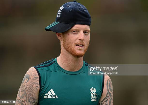 Ben Stokes during a training session before the second test match between Bangladesh and England at Shere Bangla National Stadium on October 26 2016...