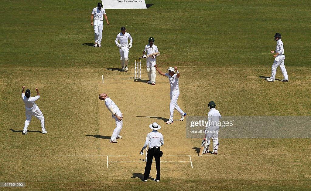 Bangladesh v England - First Test: Day Five