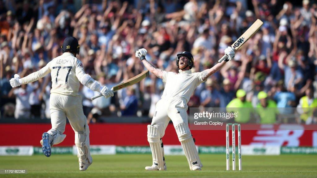 England v Australia - 3rd Specsavers Ashes Test: Day Four : News Photo