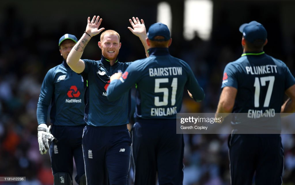 West Indies v England - 2nd One Day International : News Photo