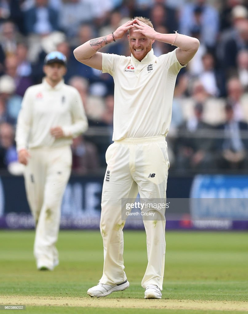 England v Pakistan: NatWest 1st Test - Day Two