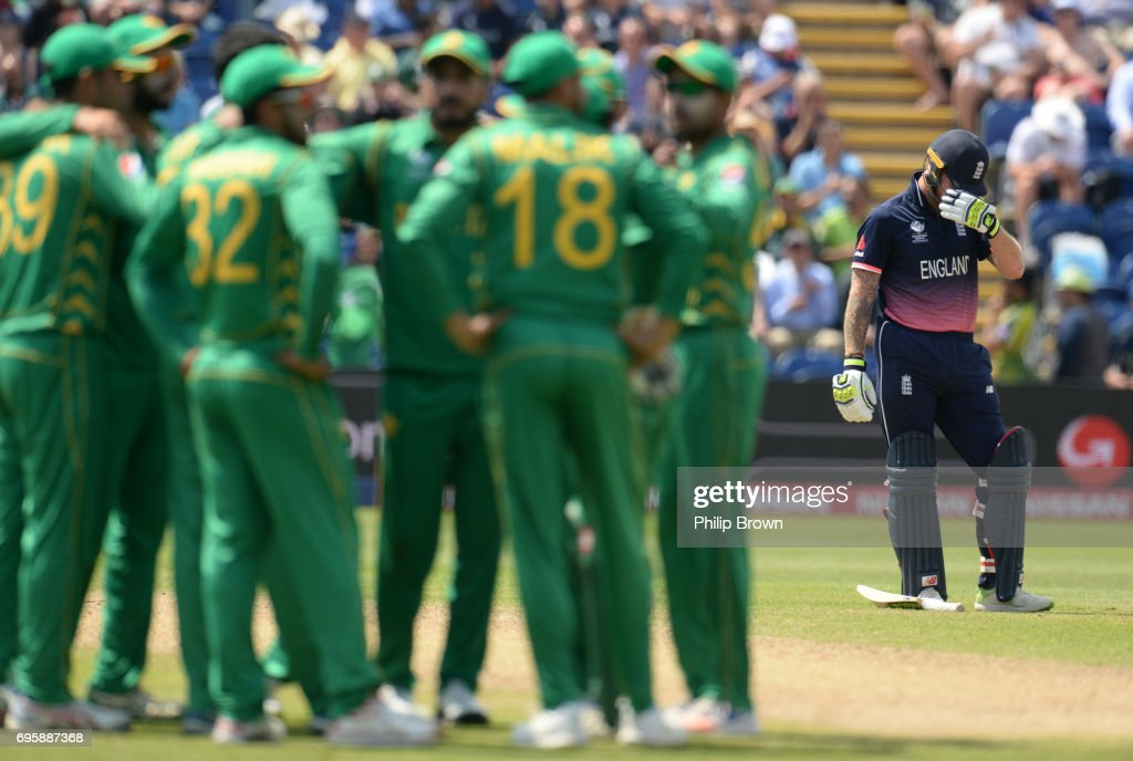 England v Pakistan - ICC Champions Trophy : News Photo