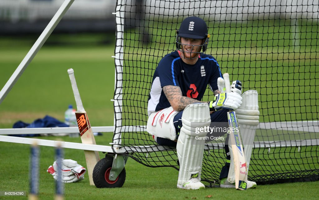 England & West Indies Net Sessions