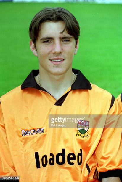 Ben Strevans of Barnet football club prior to the 19992000 season