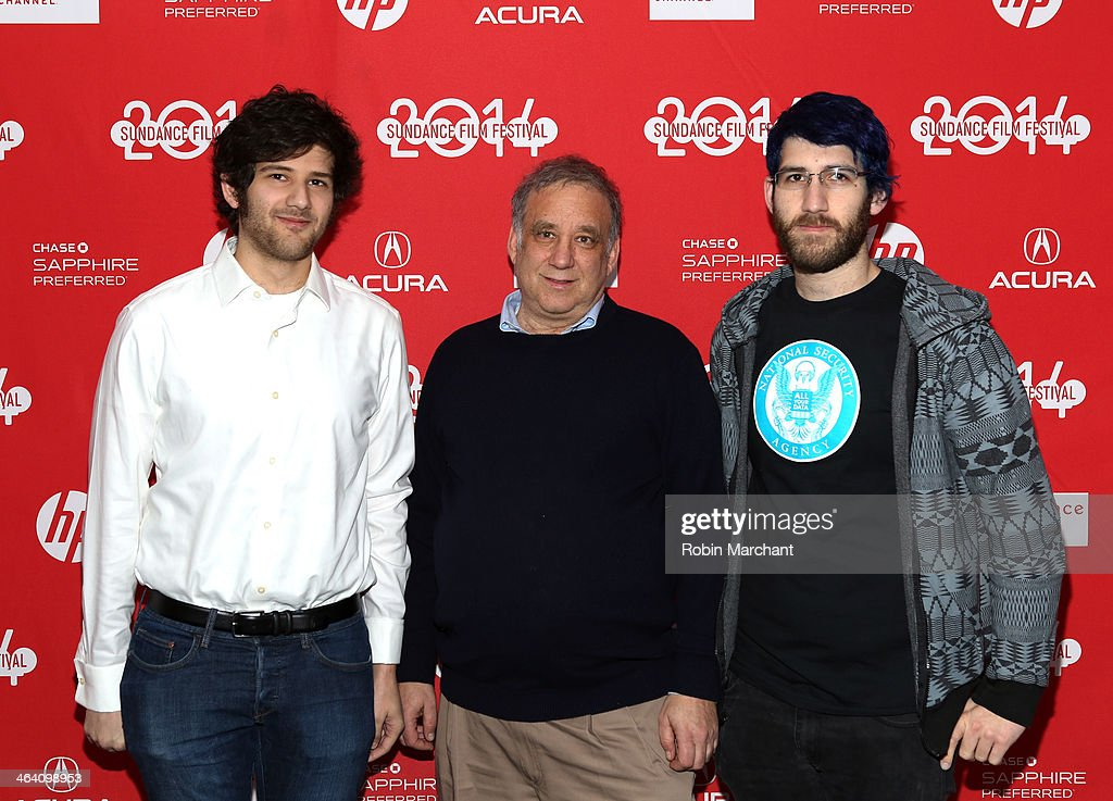 'The Internet's Own Boy: The Story Of Aaron Swartz' Premiere - 2014 Sundance Film Festival : News Photo
