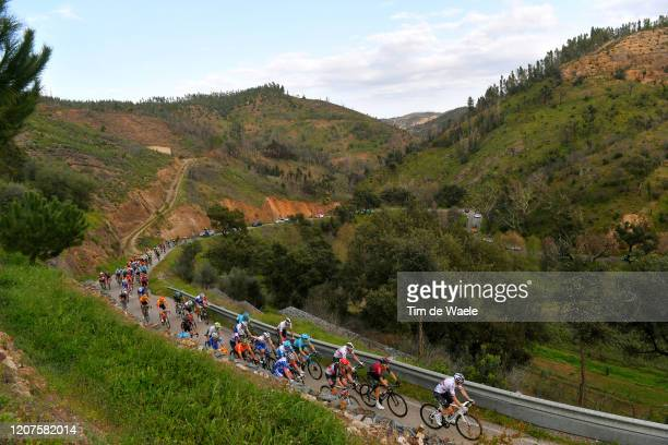 Ben Swift of The United Kingdom and Team INEOS / Michal Kwiatkowski of Poland and Team INEOS / Tim Wellens of Belgium and Team Lotto Soudal / Rui...