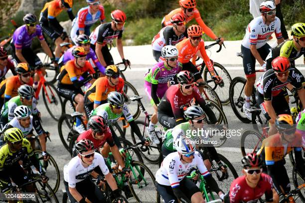 Ben Swift of The United Kingdom and Team INEOS / Tao Geoghegan Hart of The United Kingdom and Team INEOS White Best Young Jersey / Tsgabu Grmay of...