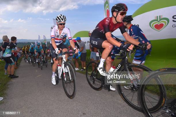 Ben Swift of United Kingdom and Team INEOS / Pavel Sivakov of Russia and Team INEOS / during the 76th Tour of Poland 2019 Stage 6 a 160km stage from...