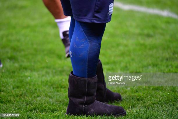 Ben Tameifuna of Racing 92 before the Top 14 match between Stade Francais and Racing 92 on December 3 2017 in Paris France
