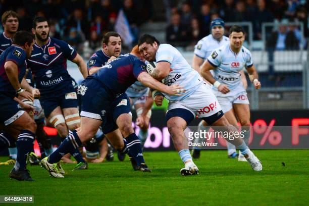 Ben TAMEIFUNA / Steven KITSHOFF Racing 92 / Bordeaux Begles 12eme journee de Top 14 Photo Dave Winter / Icon Sport