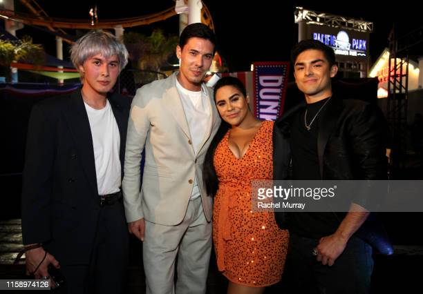 Ben Tan Lewis Tan Jessica Marie Garcia and Diego Tinoco attend the Stranger Things Season 3 World Premiere on June 28 2019 in Santa Monica California