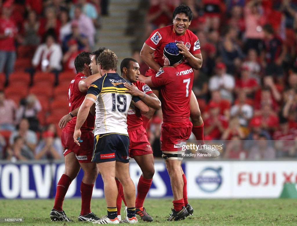 Super Rugby Rd 7 - Reds v Brumbies
