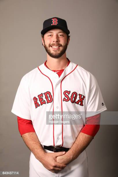 Ben Taylor of the Boston Red Sox poses during Photo Day on Sunday February 19 2017 at JetBlue Park in Fort Myers Florida
