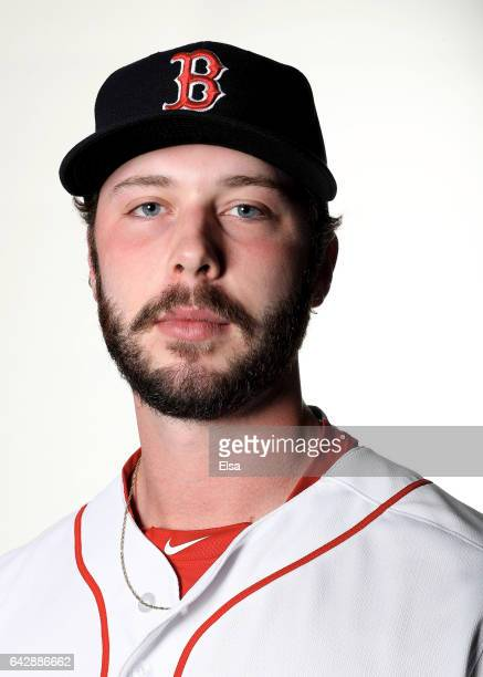 Ben Taylor of the Boston Red Sox poses for a portrait during the Boston Red Sox photo day on February 19 2017 at JetBlue Park in Ft Myers Florida
