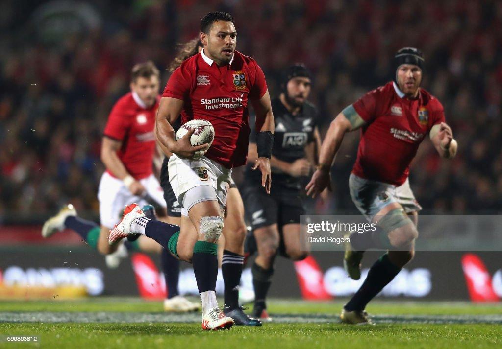 NZ Maori v British & Irish Lions : News Photo