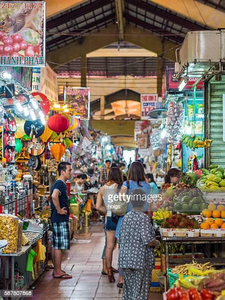 Ben Thanh Market in Ho Chi Minh, Vietnam