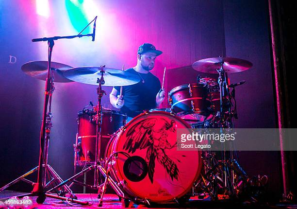 Ben Thatcher of Royal Blood perform at St Andrews Hall on December 2 2014 in Detroit Michigan