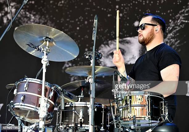 Ben Thatcher Of Royal Blood Performs At Summer In The City Castlefield Bowl On July
