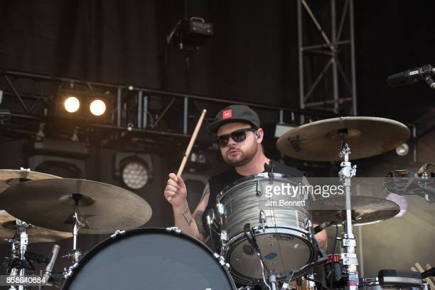 Ben Thatcher of Royal Blood performs live on stage during Austin City Limits Festival at Zilker Park on October 6 2017 in Austin TX