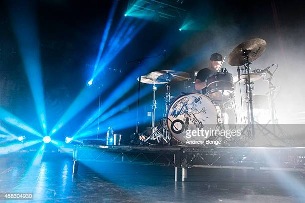 Ben Thatcher of Royal Blood performs on stage at The Ritz Manchester on November 2 2014 in Manchester United Kingdom