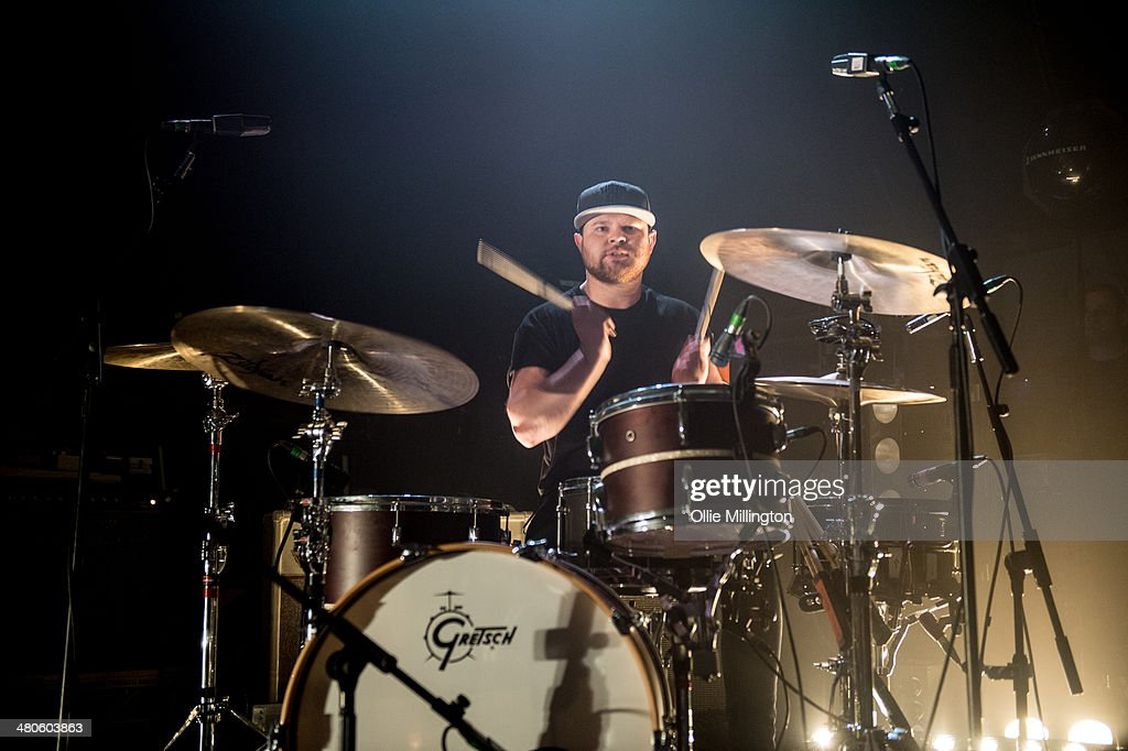 Ben Thatcher of Royal Blood performs onstage at the NME Awards Tour Show at The Institute on March 25, 2014 in Birmingham, England.
