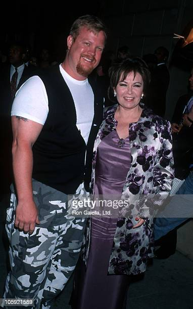 Ben Thomas and Roseanne during Maxim Magazine's Circus Maximus Party at The Swimming Pool in Hollywood California United States