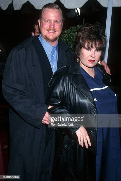 Ben Thomas and Roseanne during The 21st Annual People's Choice Awards at Universal Studios in Universal City California United States