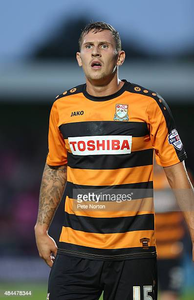 Ben Tomlinson of Barnet in action during the Sky Bet League Two match between Barnet and Northampton Town at The Hive on August 18 2015 in Barnet...
