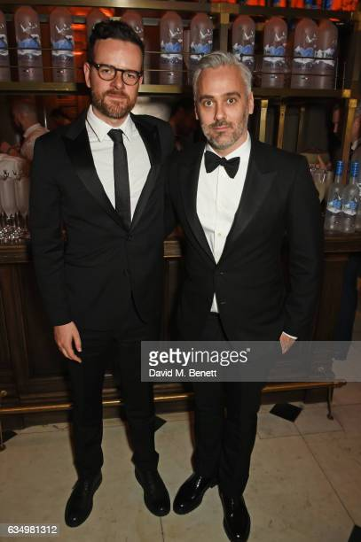Ben Townley and Iain Canning attend The Weinstein Company Entertainment Film Distributors Studiocanal 2017 BAFTA After Party in partnership with Ben...