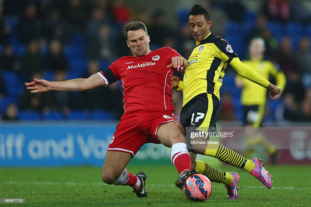 Cardiff City v Colchester United - FA Cup Third Round : News Photo
