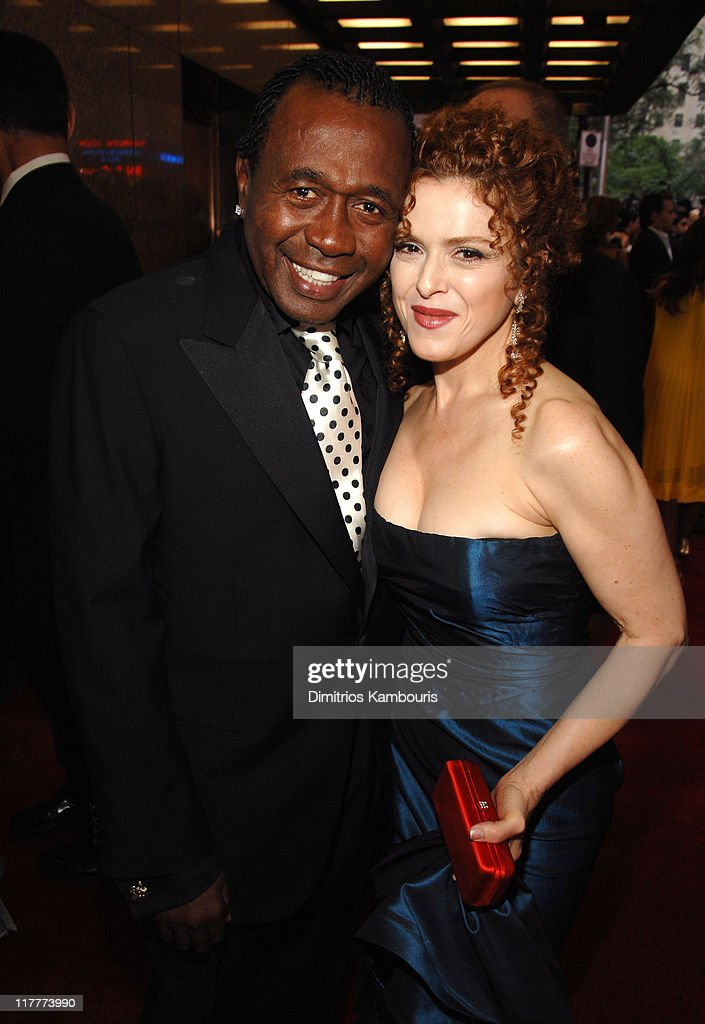 Ben Vereen and Bernadette Peters during 61st Annual Tony Awards - Red Carpet at Radio City Music Hall in New York City, New York, United States.