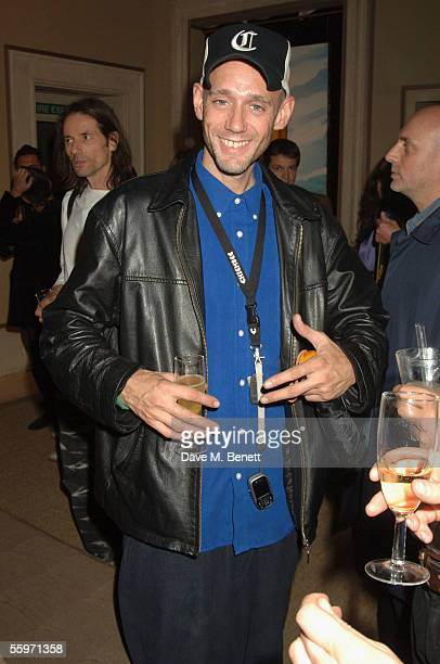 Ben VolpierrePierrot attends the private view for Julian Schnabel's Pintura Del Figlo XXI his first show in 6 years at 38 Dover Street on October 19...