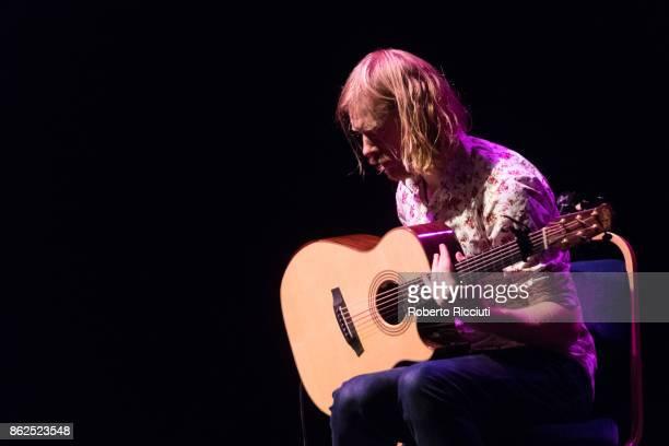 Ben Walker performs on stage at Usher Hall on October 17 2017 in Edinburgh Scotland