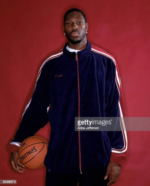 Ben Wallace of the Detroit Pistons poses for a portrait during the 2004 NBA AllStar Weekend on February 13 2004 in Los Angeles California NOTE TO...