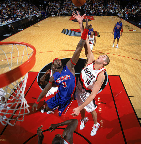 Detroit Pistons V Portland Trail Blazers Photos And Images